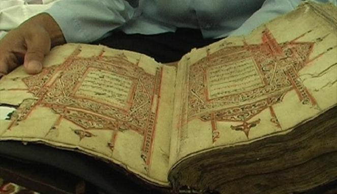 Al Qur'an Kuno Peninggalan Kerajaan Hindu Buleleng!!!