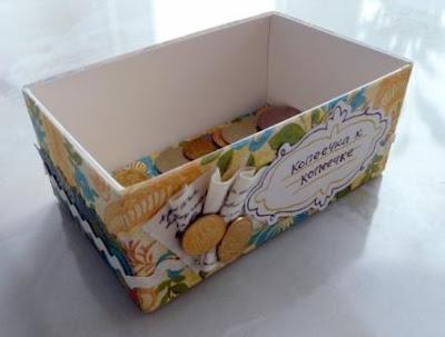 Как сделать из коробки копилку своими руками