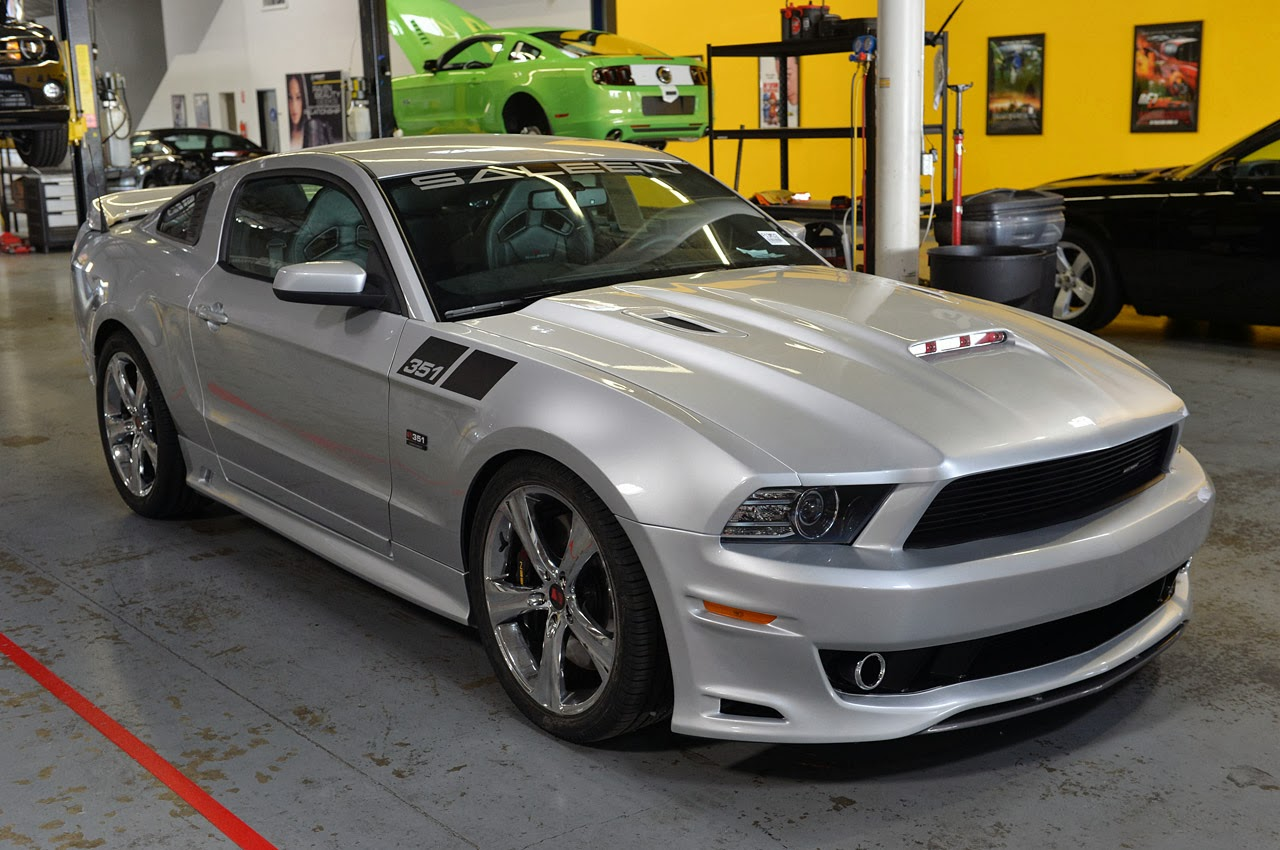 2014 Saleen 351 Supercharged Mustang