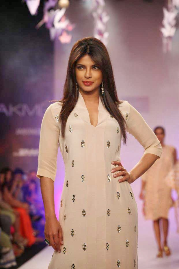 Priyanka Chopra at Lakme Fashion Week Summer/Resort 2014