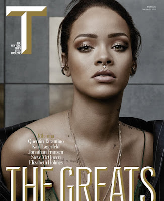 Rihanna New York Times magazine cover