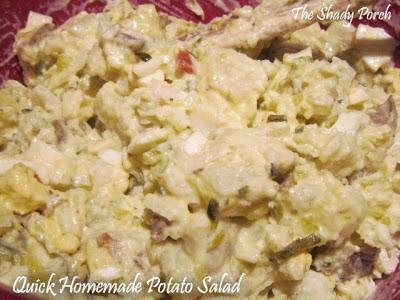 Homemade Potato Salad - Quick Southern Recipe
