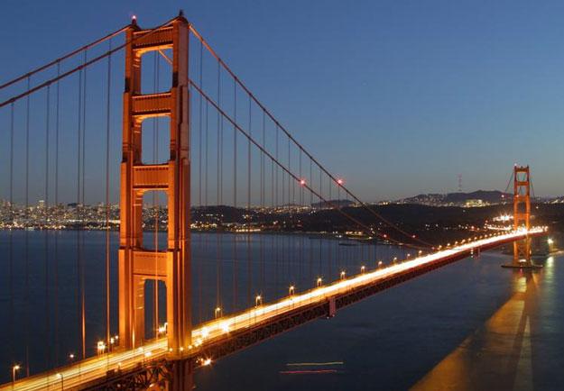 il Golden Gate bridge di San Francisco