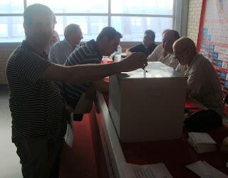 Η σταυροδότηση του 11μελούς νέου Δ.Σ. της ΕΣΚΑΝΑ όπως εξελέγη
