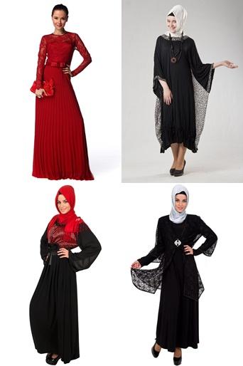 2013 Tesettür Abiye Modelleri
