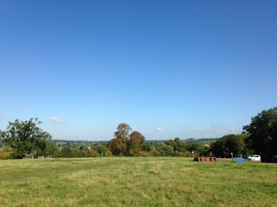 Uitzicht cross terrein Moreton Morrell