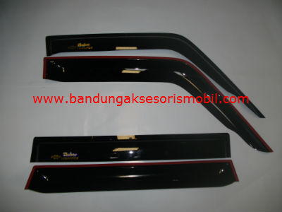 Talang Air Trooper Original Black Depan Belakang