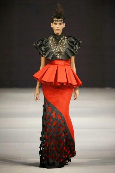 modelagem, e confecção 1 colocado no Dragao Fashion 2014