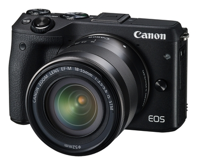 New Canon EOS M3 Mirrorless DSLR Camera Announced