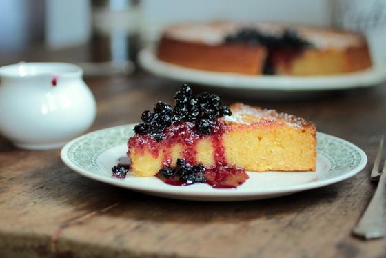 cake originals lemon blueberry polenta cake the eggs oil and honey ...