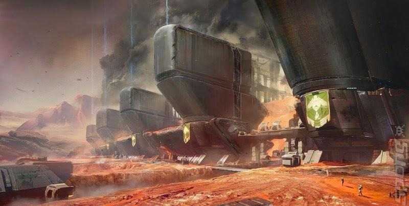 Imágen del videojuego Destiny