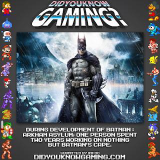 batman arkham asylum fact Random Game Facts   Batman: Arkham Asylum