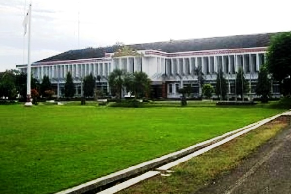 Kantor Bupati. Kotabumi Lampung Utara