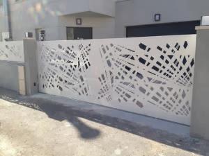pagar rumah minimalis modern terbaru