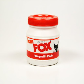 Alasanku memilih lem fox adalah karena jika memakai lem kertas yang ...