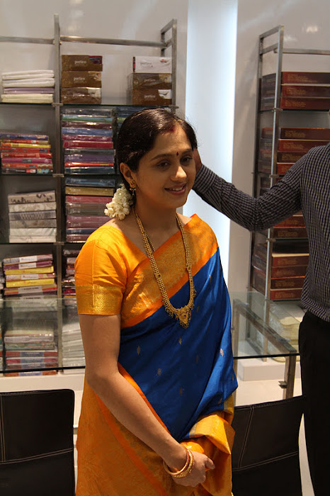 devayani new @ textiles room event hot images
