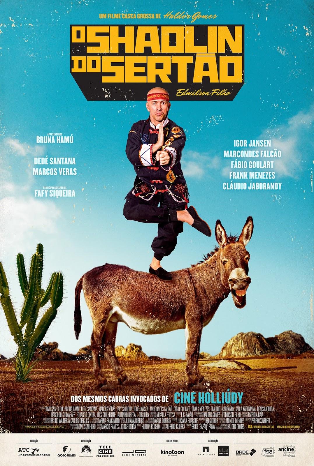 Filme Poster O Shaolin do Sertão