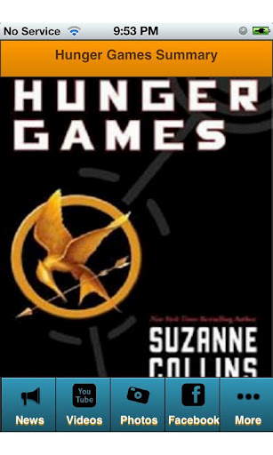 hunger games summary Van jones says the hunger games is a more sweeping critique of wealth inequality than elizabeth warren's speech.