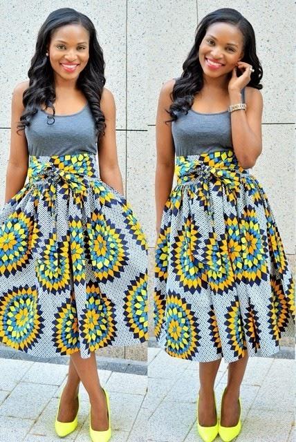 Ankara Skirt And Blouse Design Dezango Fashion Zone