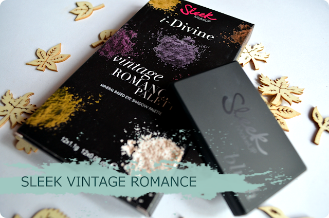 Sleek Vintage Romance Blush & i-Divine Lidschatten Palette