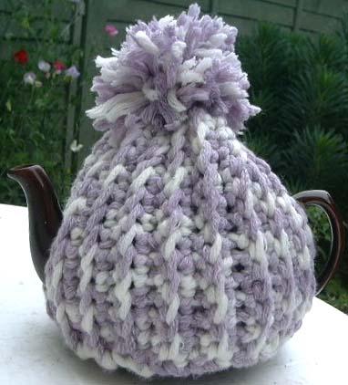 Peapod Soup Free Crochet Pattern Extra Chunky Tea Cosy