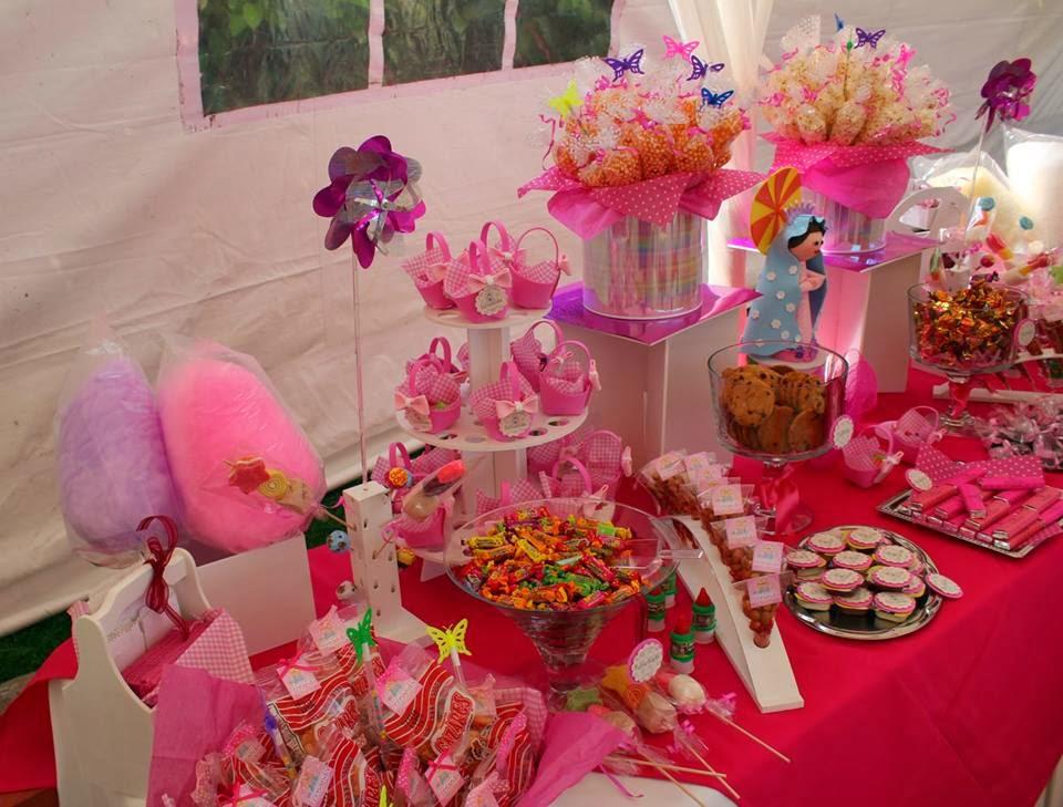 Dulces y eventos octubre 2013 for Mesa dulce para comunion