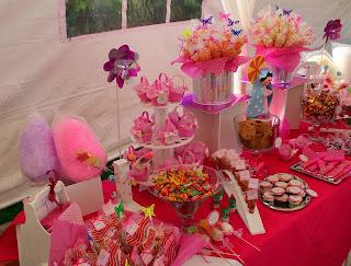 mesa de dulces primera comunión