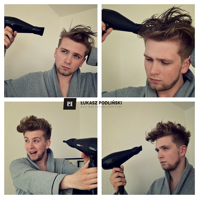 """układanie włosów na """"bad hair day"""""""
