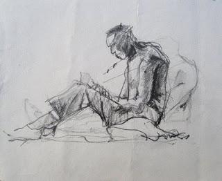 v krču dihanja pišem │ v besedah drugih │ ni zavetja