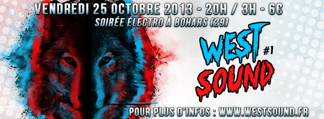 WestSound #1 - vendredi 25 octobre 2013 - @Bohars - GFT - James Deanoszalski - Samplifire - Gestafloor - SKORE - Kraume - Coco - B&M -  Salle Roz Valan