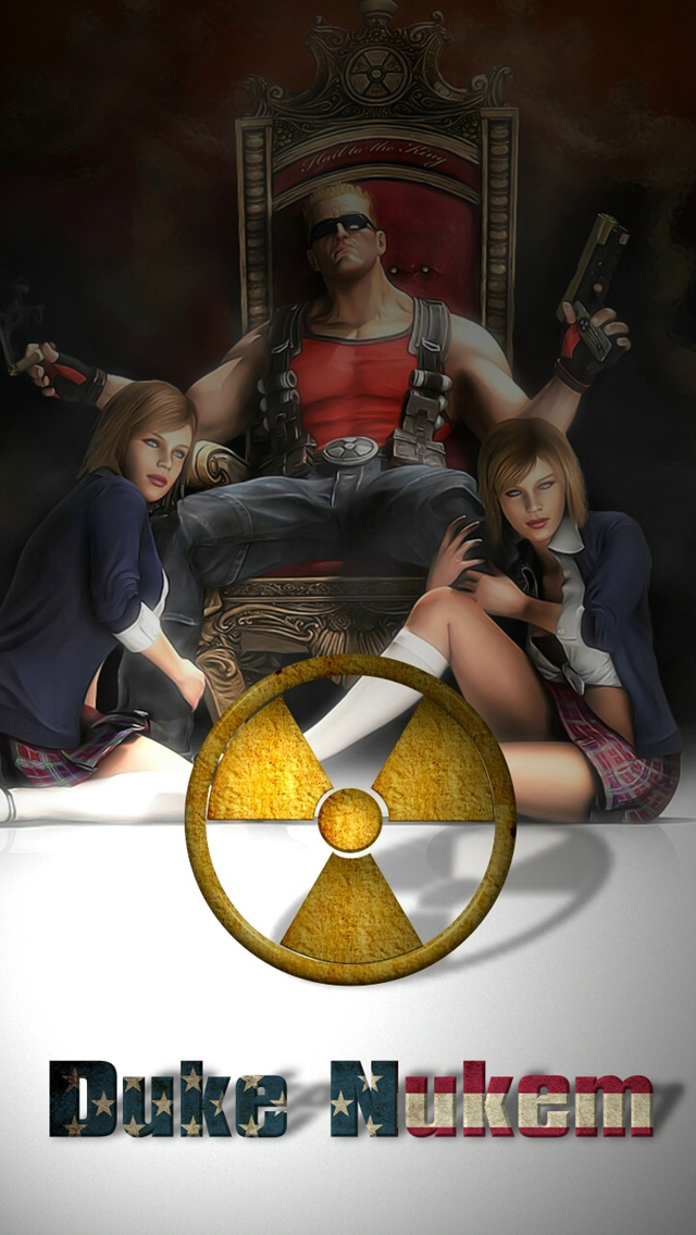 This Wallpaper Is Suitable For IPhone 5 Any Other Phones Click Duke Nukem Cell Phone