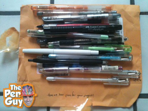 Pen Donation from Washington DC