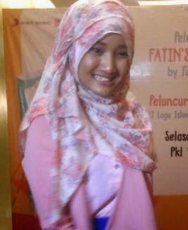 Cara Hijab Ala Fatin Sidqia Lubis
