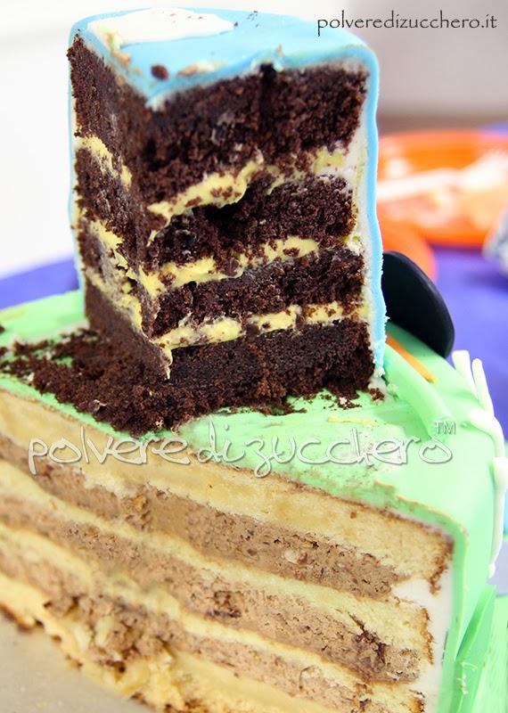 torte al cioccolato creme cake design polvere di zucchero