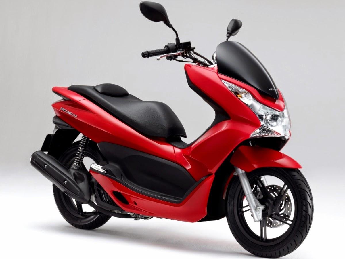 Foto New Honda PCX 150 Warna Merah Motor Baru Honda