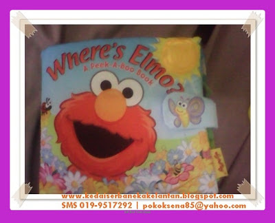 Softbook Where Elmo Cover Page