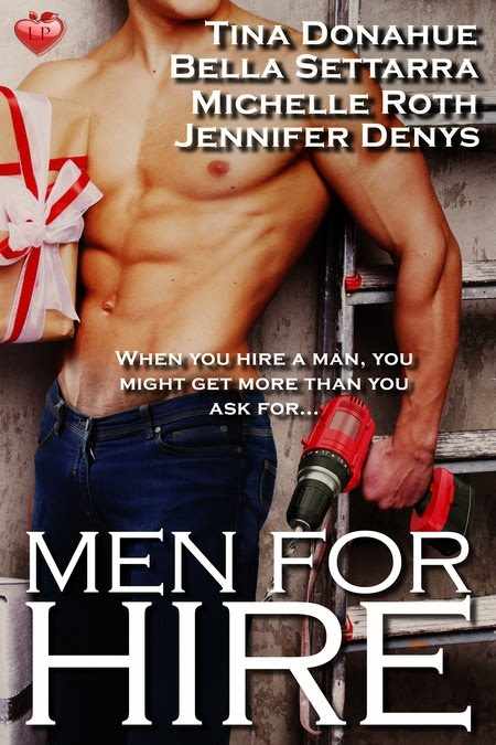 Men for Hire anthology is now out!