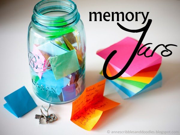New Year DIY: Memory Jars