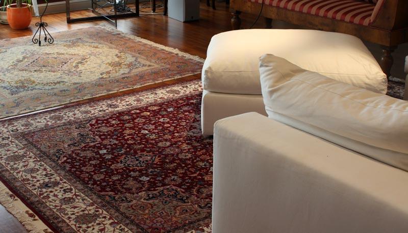Suggestioni mediorientali architettura e design a roma - Tappeti da sala ...