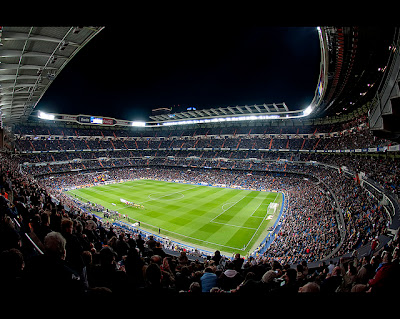 stadio Santiago Bernabeu Real Madrid