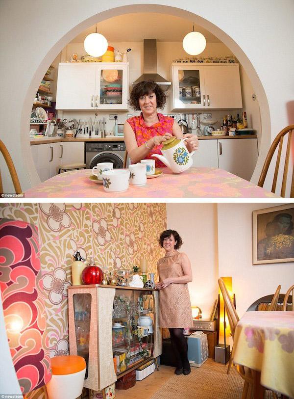 La mujer que vive en los 60