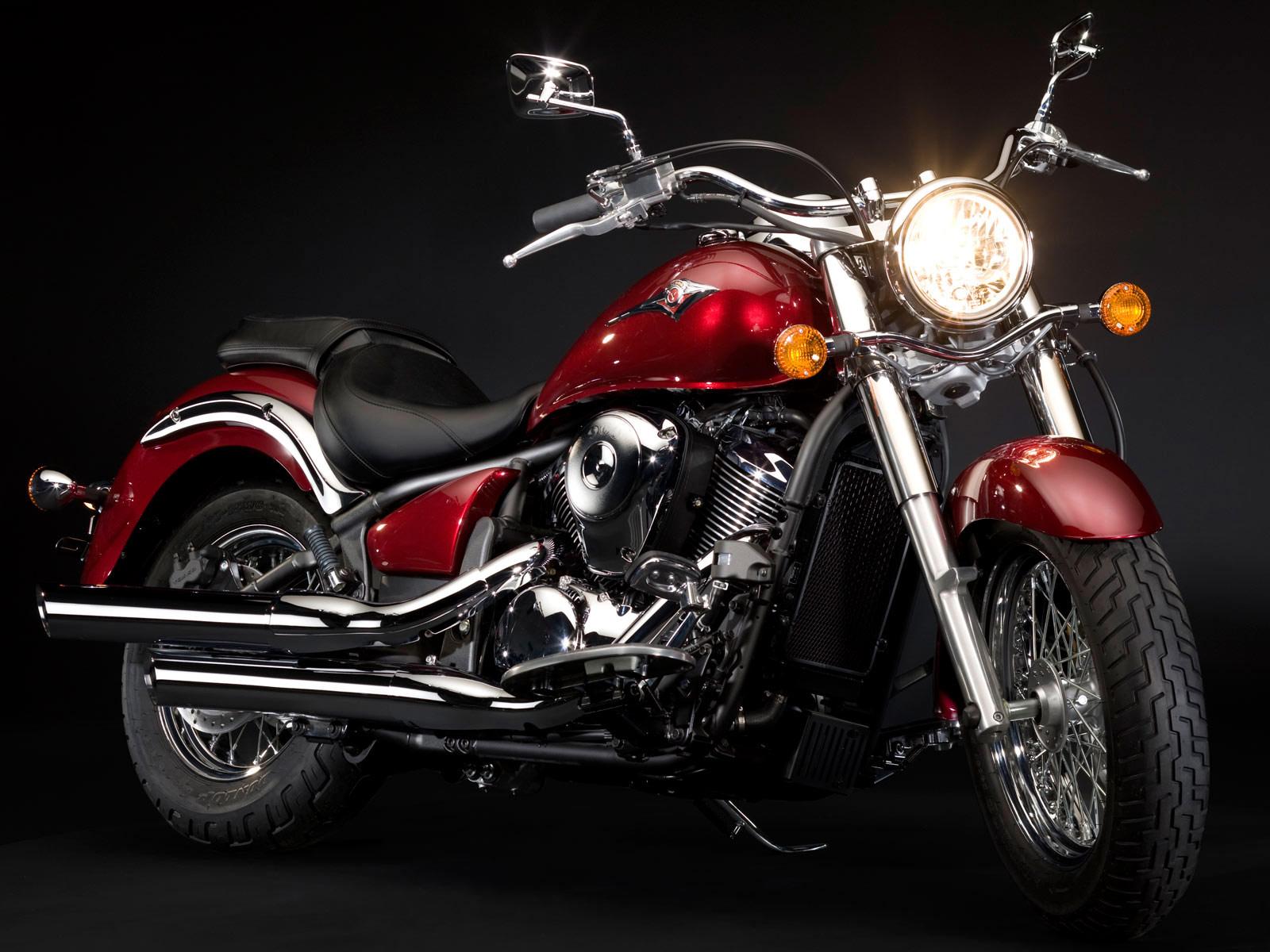 Luxury Motorcycle Hd Wallpapers: KAWASAKI Desktop Wallpaper 2009 VN 900 Classic