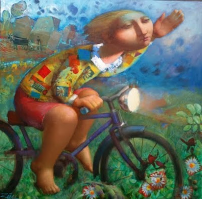 Ciclista (Álvaro Reja)