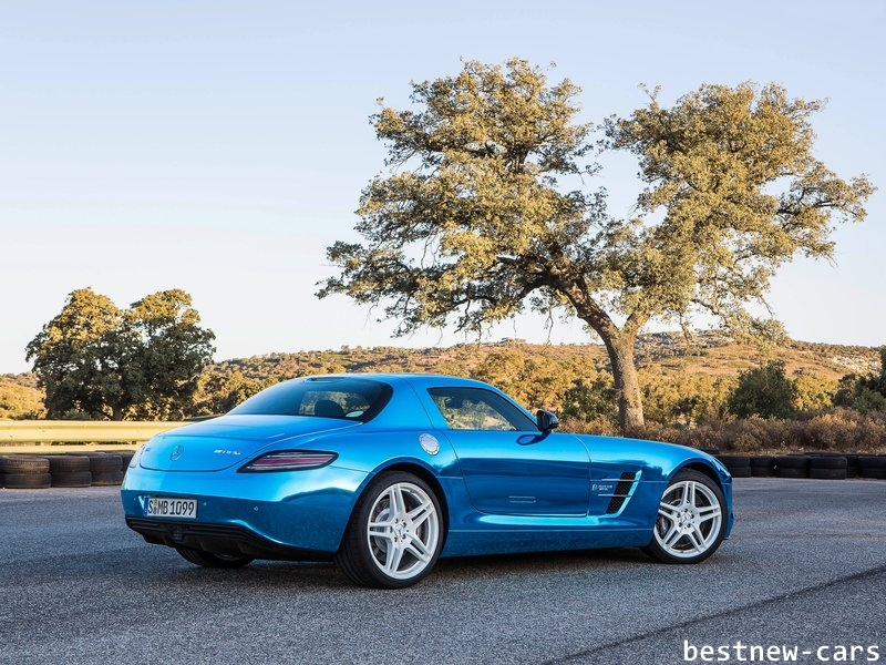 last mercedes benz sls amg coupe electric drive 2014 sport luxe pack best new cars in 2014. Black Bedroom Furniture Sets. Home Design Ideas