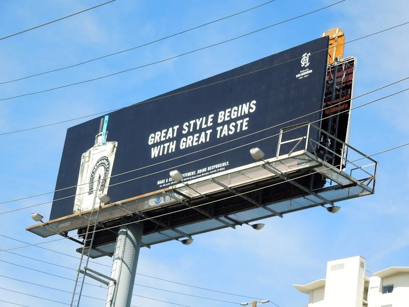 Herradura great style great taste billboard