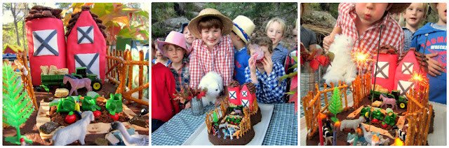 Farm party cake ideas
