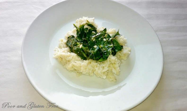 gluten free spaetzle with sauteed collard greens german spaetzle for a ...