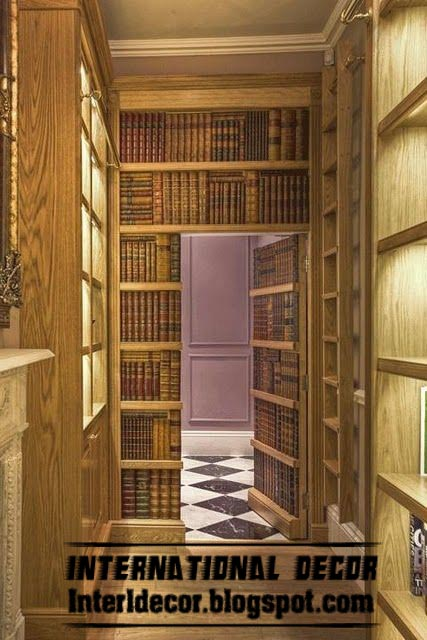 hidden doors secret doors designs ideas pictures