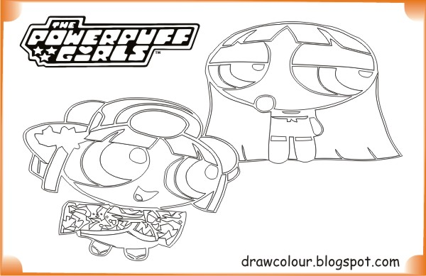printable-the_powerpuff_girls-blossom_cute-coloring-pages