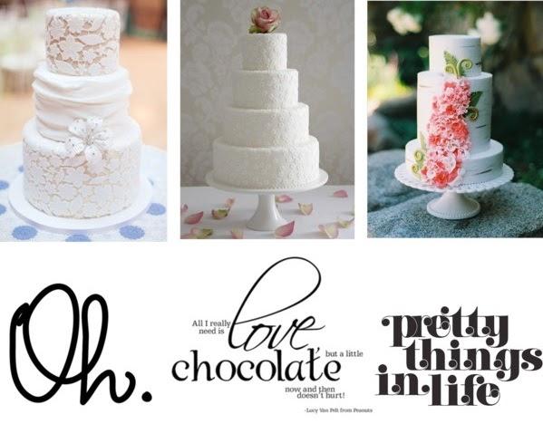 Posh Veils Wedding Cake